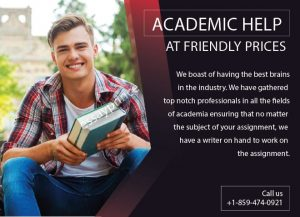 Academic Help at affordable Prices
